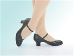 Capezio Child Jr. Footlight with Taps attached - Style 550
