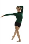 Capezio Turtleneck Nylon Adult Long Sleeve Leotard - TB41