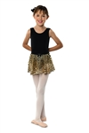 Danshuz Child Leopard Circle Skirt - You Go Girl Dancewear