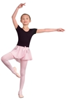 Danshuz Child Mock Wrap Skirt - You Go Girl Dancewear