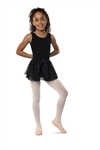 Danshuz Child Double Layer Skirt With Hologram Dot Print - You Go Girl Dancewear