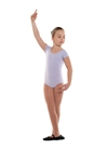 Danshuz Child Cap Sleeve Cotton Leotard - You Go Girl Dancewear