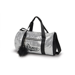 Danshuz Sequin Silver Dance Duffel Bag - You Go Girl Dancewear