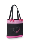 Danshuz Dance Heart Tote Bag - You Go Girl Dancewear