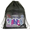 Danshuz Graffiti Drawstring Backpack - You Go Girl Dancewear