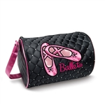 Danshuz Quilted Rhinestone Ballet Slipper Duffle Bag - You Go Girl Dancewear