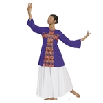 Eurotard Plus Size Joyful Praise Long Sleeve Tunic