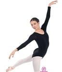 Eurotard Plus Long Sleeve Cotton Leotard - 10265P