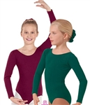 Eurotard Cotton Child Long Sleeve Leotard