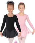 Eurotard Child Value Collection Long Sleeve Double Skirted Leotard - You Go Girl Dancewear