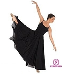 "Eurotard Plus Triple Panel Lyrical Skirt, 40"" Length - You Go Girl Dancewear"