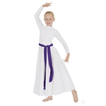 Eurotard Child High Neck Dress w/ Zipper Back - You Go Girl Dancewear