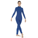 Eurotard Adult Microfiber Long Sleeve Turtleneck Dance Unitard - 44132