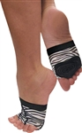 Dance Class Foot Mitten - Zebra - You Go Girl Dancewear