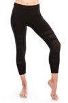 Calf Length Mesh Leggings - You Go Girl Dancewear