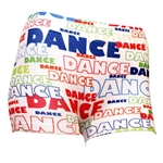 Comic Dance Print Boy Shorts