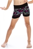 "Sequined ""Love Dance"" Shorts"