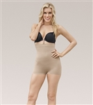 Julie France Plus Size Leger Mid Waist Boy Short Shaper by Eurotard - You Go Girl Dancewear