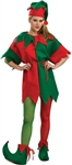 Adult Elf Red and Green Tights -  You Go Girl Dancewear