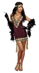 Adult Sophisticated Lady Sequin Costume Dress -  You Go Girl Dancewear
