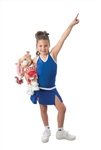 Pizzazz Youth A-line Cover Stitch Skirt with Boy Cut - 5100 - You Go Girl Dancewear