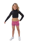Pizzazz Child Body Basics Crop Top - 7600 - You Go Girl Dancewear