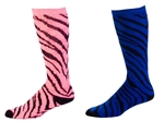 Pizzazz Zebra Print Knee High Sock8090AP - You Go Girl Dancewear