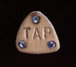 Tap Pin with Rhinestones - You Go Girl Dancewear