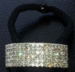 Rhinestone Ponytail Holder - Bar - You Go Girl Dancewear