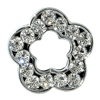 Rhinestone Open Clear Flower - You Go Girl Dancewear