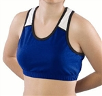 Pizzazz Adult Tri-Color Sports Bra - Style 1800 - You Go Girl Dancewear