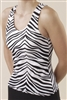 Pizzazz Adult Animal Print Racer Back Top - 9800AP - You Go Girl Dancewear