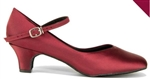 "So Danca Women's Rita Burgundy 1.5"" Heel Character Shoe, BL144 - You Go Girl Dancewear"
