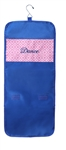 Sassi Designs DIA-61 Diamond Navy Hanging Accessory Bag with embroidered ñDanceî