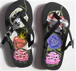 Sugar & Vine Personalized Flip Flops - Tattoo