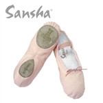 Sansha Star Split Sole Canvas Ballet  - 15C- You Go Girl Dancewear - You Go Girl Dancewear