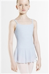 Wear Moi Youth Filigree Flower Leotard with Tulle Skirt