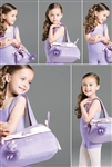 Wear Moi Tafetta and Satin Children's Handbag w/ Keychain