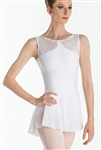 Wear Moi Adult Burnout Jersey and Microfiber Leotard w/ Tulle Skirt