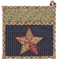 Arlington Pot Holder with Pocket & Patchwork Star