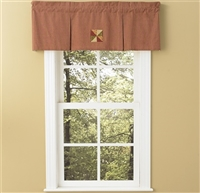 Mill Village Lined Pleat Valance