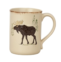 Rustic Retreat Moose Mug