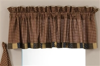 Patriotic Patch Valance Block Border