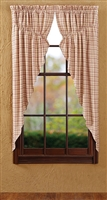 "Tacoma Prairie Curtain Lined-Set of 2 72""x63"""