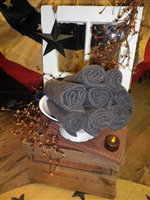 Licorice Wool Felt Fat 1/8 or Fat 1/4