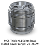 Joyetech Ornate MGS Triple Coils