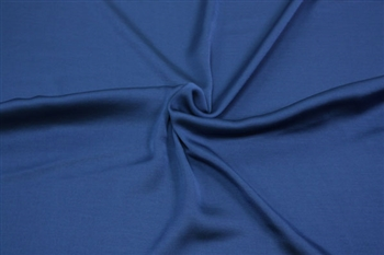 "J. Crew Cobalt Blue Poly Charmeuse, 56"" wide"