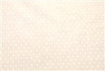 "Helen Wang White Swiss Dot, 58"" wide"