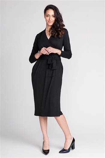Olivia Jersey Wrap Dress Pattern