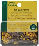 "Dritz Quilting Pins, 1 3/4"" length"